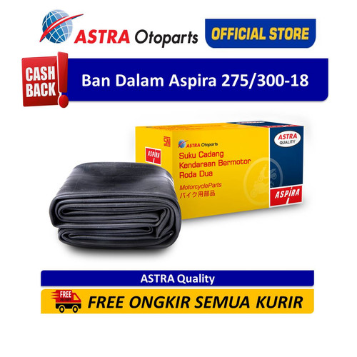 Foto Produk Ban Dalam Aspira 275/300-18 (80/90-18) (12-2753001800000) dari Astra Otoparts