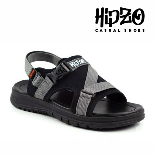 Foto Produk Sandal Japit Gunung Original Hipzo Hiking Sandal Pria Karet anti Selip - Abu-abu, 39 dari Hipzo Official Shop