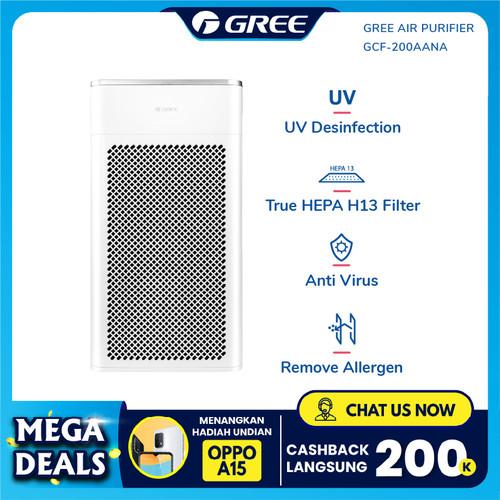Foto Produk GREE AIR PURIFIER - Anti Bacteria - Ionizer - PUTIH Model GCF200AANA dari GREE OFFICIAL