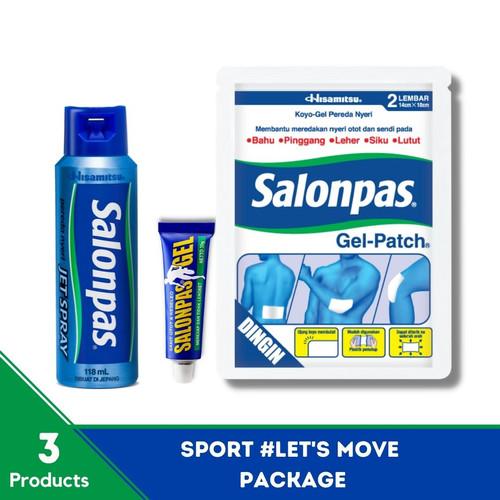 Foto Produk SALONPAS - Sport #LetsMove Package dari Hisamitsu
