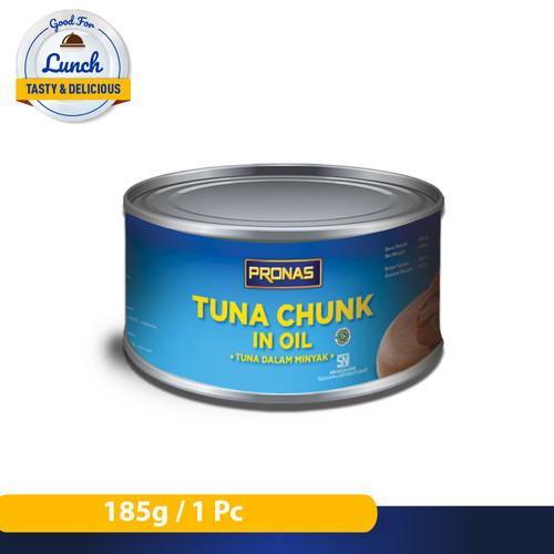 Foto Produk Pronas Tuna Chunk in Oil 185 g dari Pronas Official Store