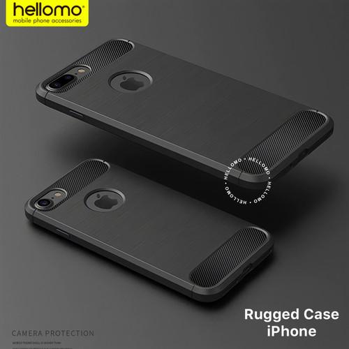 Foto Produk Rugged Armor Case / Ipaky Case Carbon iPhone 5 5S SE 6 6S 6+ 6S+ PLUS - 11 dari hellomo