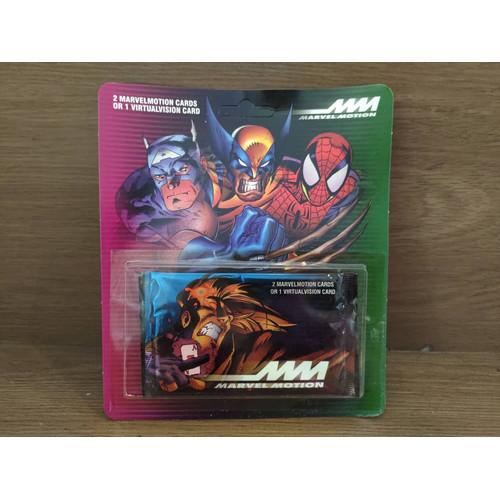 Foto Produk 1996 Fleer Marvel Motion Trading cards Pack Spiderman Wolverine dkk dari Charu Toys