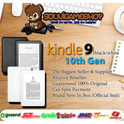 Foto Produk Amazon Kindle 9 10th 10 th gen eBook eReader - Front Light - 4GB - Hitam dari souvigameshop