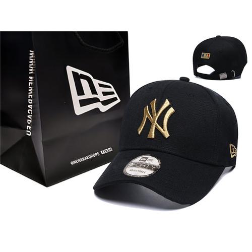 Foto Produk Topi caps baseball NY New york yankees hitam putih - NY BG NE dari Topi caps bandung
