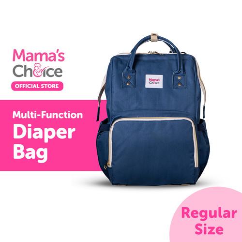 Foto Produk Mamas Choice Multi-Function Diaper Bag - Navy dari MamasChoiceID