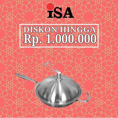 Foto Produk ISA Premier Wok 28 dari Panci ISA