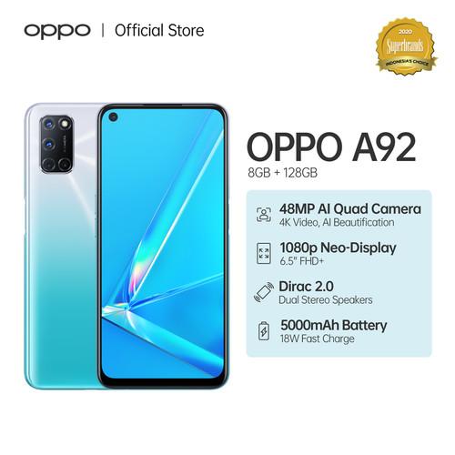 Foto Produk OPPO A92 Smartphone 8GB/128GB (Garansi Resmi) - Putih dari OPPO OFFICIAL STORE