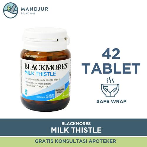 Foto Produk Blackmores Milk Thistle - Menjaga Kesehatan Fungsi Hati dari mandjur