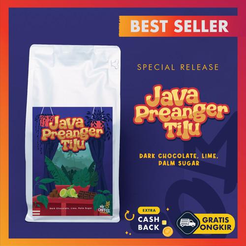 Foto Produk Biji/ Bubuk Kopi Arabika Java Preanger Tilu 500 gr | Kopi Tiwus - BIJI SANGRAI dari Mr. O Coffee
