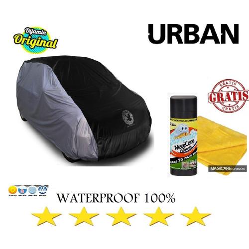 Foto Produk Cover Mobil Urban Waterproof VW Tiguan - SILVER HITAM dari GrosirOtomotif