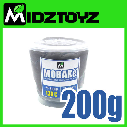 Foto Produk Mobake - Oven bake Polymer Clay 200g dari Midztoyz
