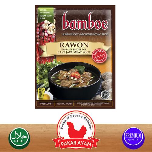 Foto Produk BUMBU BAMBOE / ANEKA BUMBU MASAKAN / KEMASAN EKONOMIS - Rawon dari Pakar Ayam