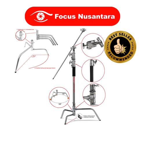 Foto Produk TAKARA Spirit Beta C-Stand Kit with Quick Release Turtle Base Steel dari Focus Nusantara