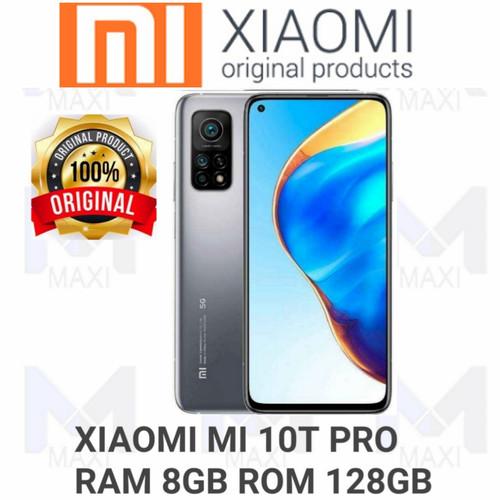 Foto Produk Xiaomi Mi 10t Pro 5G 8/128 Ram 8GB Rom 128GB Garansi Resmi - LUNAR SILVER dari Maxi phone cell