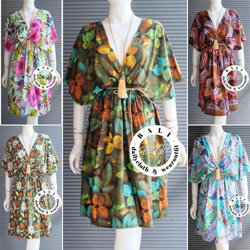 Foto Produk Mididress pantai bali /mididress kupu /dress pantai /baju santai bali2 - Foto display dari dailycloth & wearoutfit