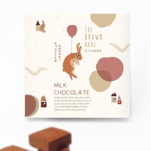 Foto Produk Coklat Jepang Milk Chocolate The Brown Hare dari The Hoppers