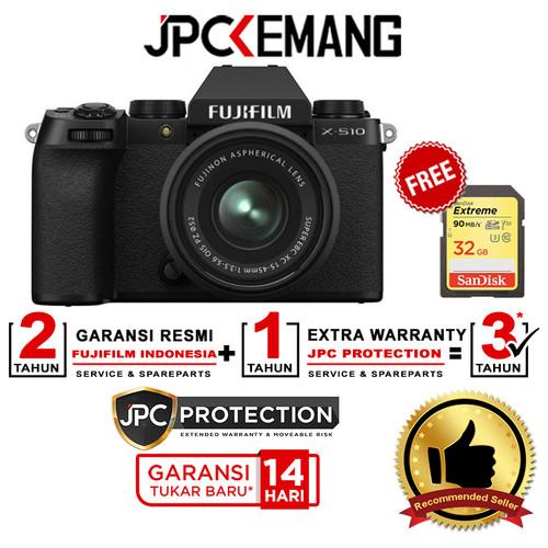 Foto Produk Fujifilm XS10 Fuji X S10 Kit XC15-45mm f3.5-5.6 OIS PZ GARANSI RESMI - KIT 15-45MM dari JPCKemang