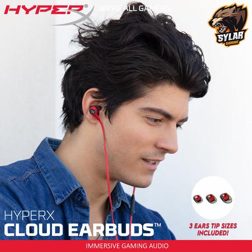 Foto Produk HyperX Cloud Earbuds Earphone Gaming dari Sylar Gaming Solution