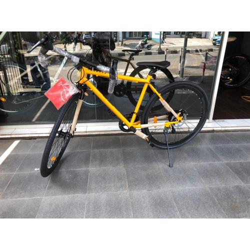 Foto Produk Road Bike Genio Gravel Scappa !!TERMURAH!! - Kuning dari Sepeda Depok