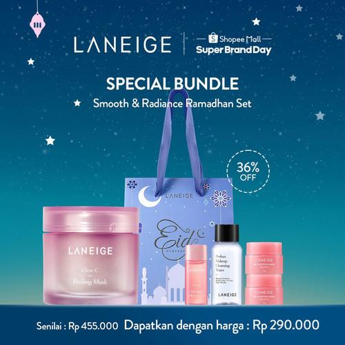 Foto Produk [LANEIGE] Clear C Peeling Mask Smooth & Radiance Ramadhan Set A dari The Moon Exports Indonesia