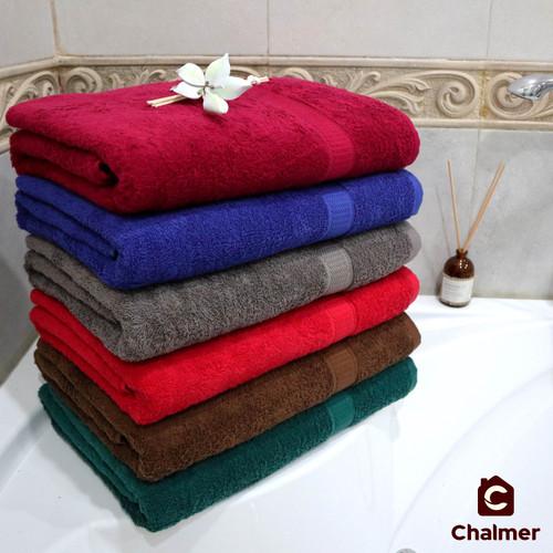 Foto Produk Handuk Besar Jumbo 80 x 160 Handuk Mandi Handuk Pantai Beach Towel - RANDOM dari Chalmer