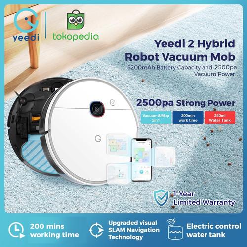 Foto Produk Yeedi 2 Hybrid Robot Vacuum Cleaner Mop dari Yeedi Indonesia
