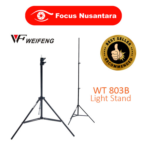 Foto Produk WEIFENG Light Stand W-803B dari Focus Nusantara