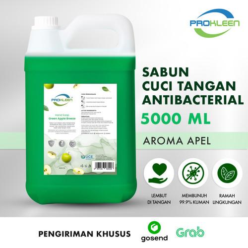 Foto Produk Sabun Cuci Tangan Antiseptik HAND SOAP PROKLEEN 5L GOSEND/GRAB - Apple dari United Cleaning Official