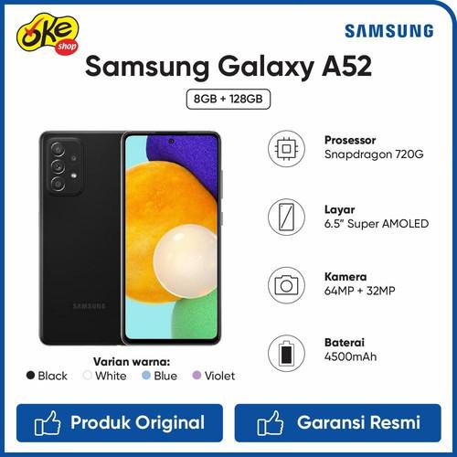Foto Produk Samsung Galaxy A52 Smartphone (8/128GB) - White dari OKESHOP