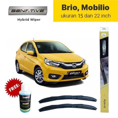 Foto Produk Wiper Hybrid BENSTIVE Brio Mobilio ukuran 16 dan 22 inch dari NEW INTI OTOPART BANDUNG