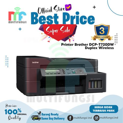 Foto Produk Printer Brother DCP-T720DW Duplex Wireless T720 / 720DW Garansi Resmi dari Multifungsi Online
