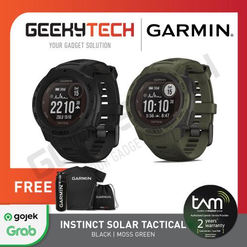 Foto Produk Garmin Instinct Solar Tactical Edition - Garansi Resmi 2 Tahun - Black dari GeekyTech