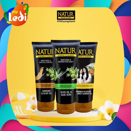 Foto Produk Natur Conditioner 165 ml (3 Varian) / Natur Kondisioner / MY LEDI - Cond. Aloe Vera dari MY LEDI
