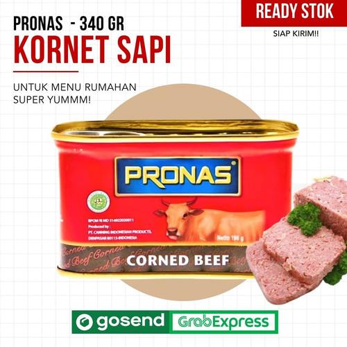 Foto Produk Pronas Kornet Sapi 340 g dengan kemasan EOE dari MIC PUSTAKA SURABAYA