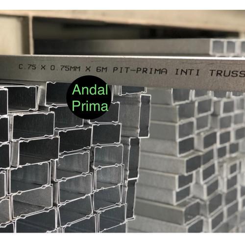 Foto Produk Baja Ringan Prima Inti Truss C 75 x 0.75mm dari Andal Prima