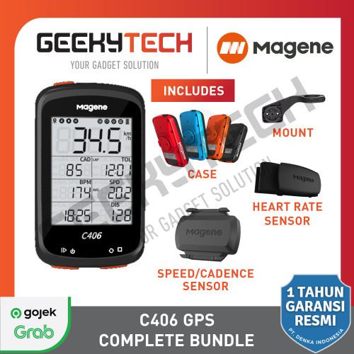 Foto Produk Magene C406 Speedometer / Bike Computer Magene C406 - Garansi Resmi - Unit Only dari GeekyTech Official