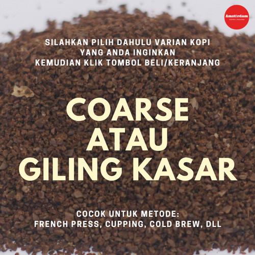 Foto Produk Kopi Arabika Papua Yahukimo 200gr - GILING KASAR dari Amstirdam Coffee