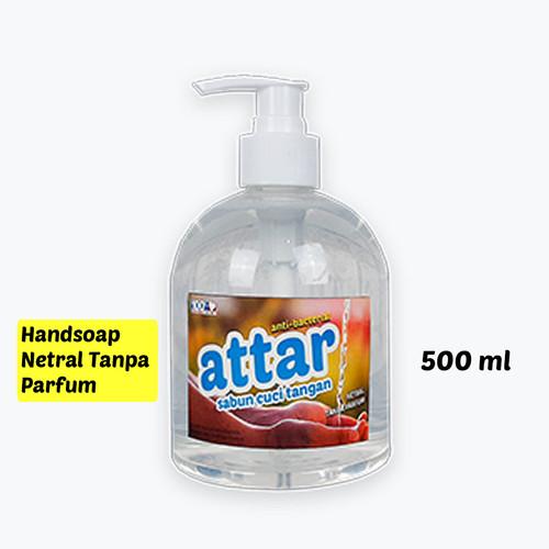 Foto Produk HANDSOAP NETRAL, NON PARFUM Botol Pump 500 ml, Sabun Cuci Tangan Soap dari Tasneem