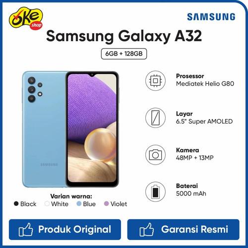 Foto Produk Samsung Galaxy A32 Smartphone (6/128GB) - Black dari OKESHOP