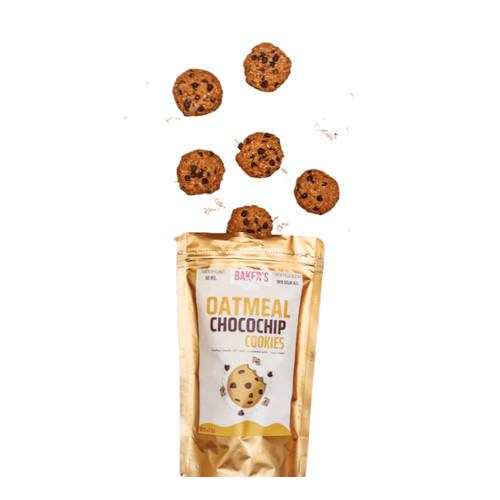 Foto Produk PREMIUM Oatmeal Chocochip Cookies @85gr - OATMEAL CHOCO dari Baker's Bell Official