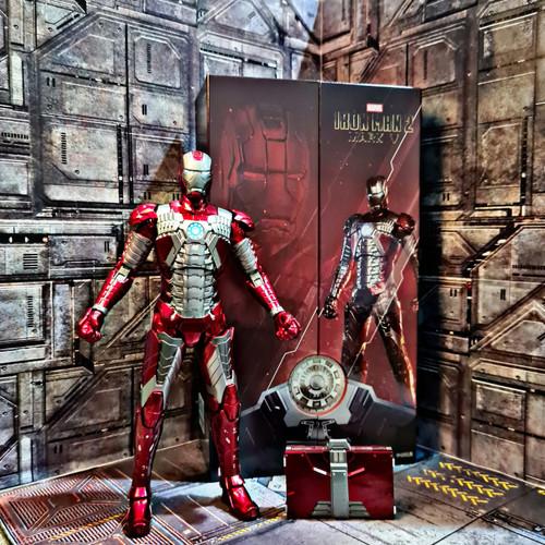 Foto Produk Marvel ZD Toys Ironman Mark V ironman MK 5 Original Iron man - Ready dari omotoys