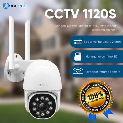 Foto Produk CCTV Wifi Outdoor Unitech 1120S Resolusi 2MP Waterproof Full HD dari TokoUsbcom