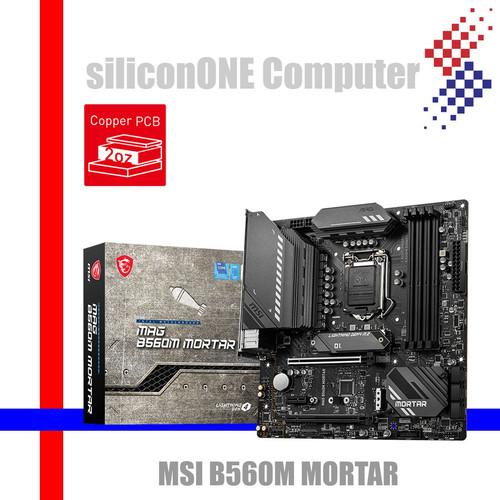 Foto Produk MSI B560M MORTAR dari silicon ONE Computer