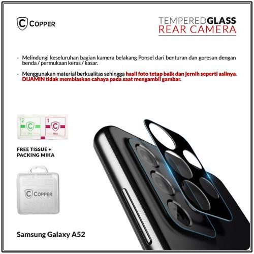 Foto Produk Samsung A52 - Copper Tempered Glass Kamera Full Black dari Copper Indonesia