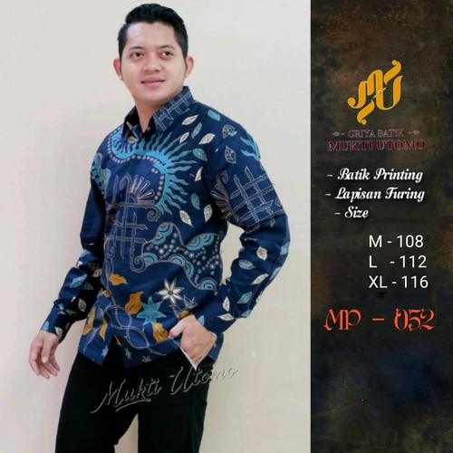 Foto Produk kemeja batik manggar premium dari Jivan Batik