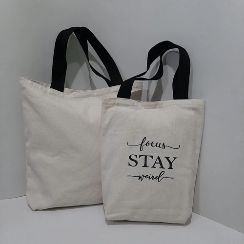 Foto Produk Heavy Duty Tote Bag Canvas by Kameha - M dari KamehaShop.com