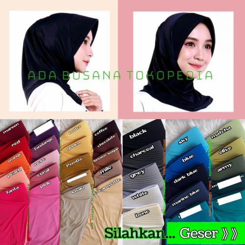 Foto Produk Hijab kerudung jilbab instan sorong bergo kerja kantor olahraga spoty dari adabusana