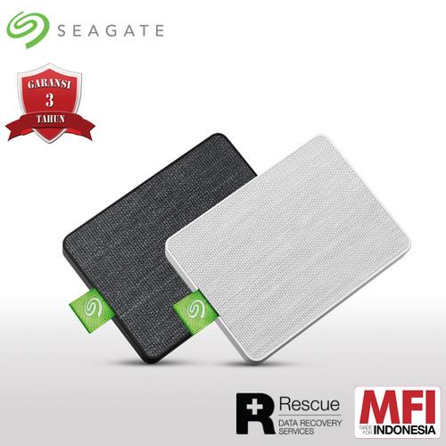 Foto Produk Seagate Ultra Touch SSD 1TB USB3.0 SSD Eksternal - Hitam dari Seagate Official Store