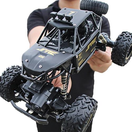 Foto Produk Mobil Remot RC Rock Crawler Speed King 1:14 - Hitam 1:16 dari TOYSCORNER INDONESIA